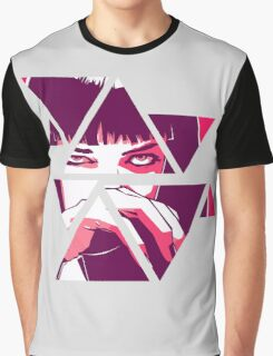 Mia Wallace - Pulp fiction Graphic T-Shirt