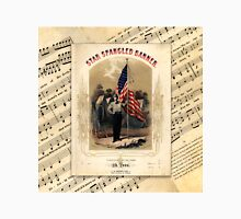 The Star Spangled Banner Vintage Song Sheet Unisex T-Shirt
