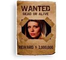 Buffy Tara Wanted 2 Canvas Print