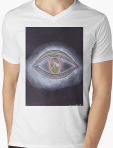 Trippy Eye Mens V-Neck T-Shirt