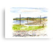 Warm Beach, Washington Canvas Print
