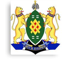 Coat of Arms of Johannesburg Canvas Print