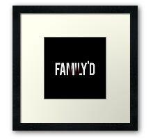 Resident Evil VII Family Framed Print
