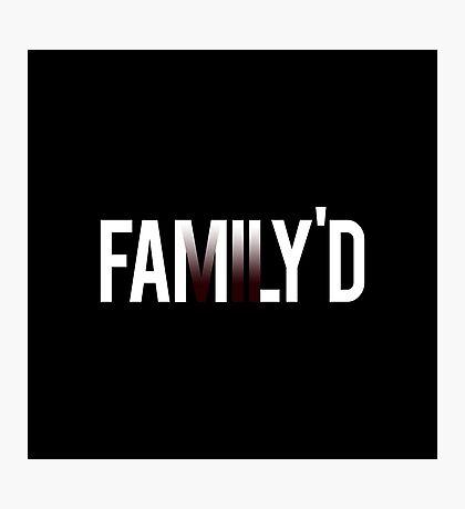 Resident Evil VII Family Photographic Print