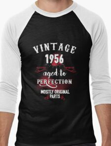 1956 Aged to Perfection, Mostly Original Parts Men's Baseball ¾ T-Shirt