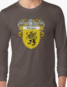 Morgan Coat of Arms/Family Crest Long Sleeve T-Shirt