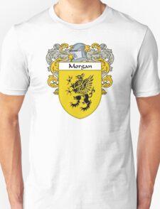 Morgan Coat of Arms/Family Crest Unisex T-Shirt