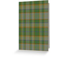 02578 Tulare County, California Fashion Tartan  Greeting Card