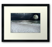 Moon Upon the Water Photo Print Framed Print