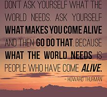 What Makes You Come Alive by Maren Misner