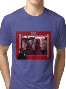 Buffy Graduation Willow Tri-blend T-Shirt