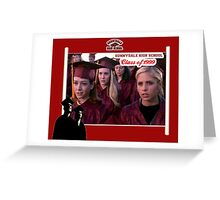 Buffy Graduation Willow Greeting Card