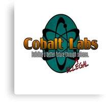 Logo - Cobalt Labs Canvas Print