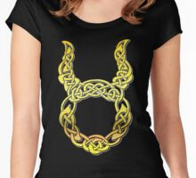 Taurus Celtic Women's Fitted Scoop T-Shirt