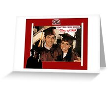 Buffy Graduation Xander and Cordelia Greeting Card