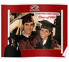 Buffy Graduation Xander and Cordelia Poster