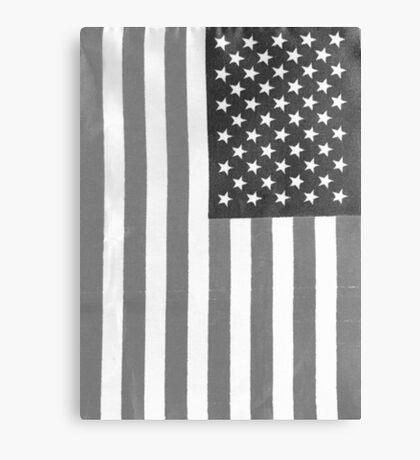 American Flag Verticle Canvas Print