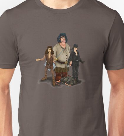 Fezzick,Inigo and Wesley Unisex T-Shirt