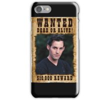 Buffy Xander Wanted iPhone Case/Skin