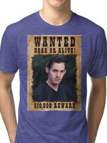 Buffy Xander Wanted Tri-blend T-Shirt