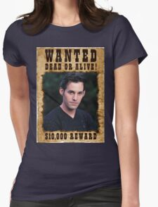 Buffy Xander Wanted Womens Fitted T-Shirt