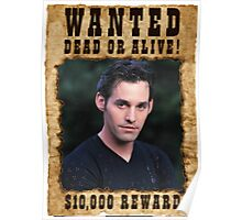 Buffy Xander Wanted Poster