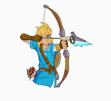 Legend of Zelda Breath of the Wild Link Men's Baseball ¾ T-Shirt