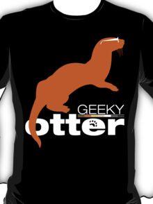 Geeky Otter! T-Shirt