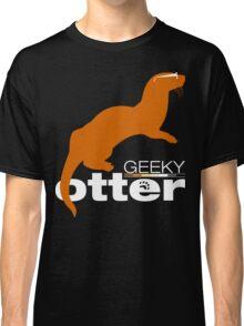 Geeky Otter! Classic T-Shirt