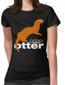 Geeky Otter! Womens Fitted T-Shirt