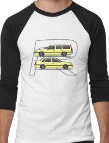 Volvo 850R T5-R Duo Creme Yellow Men's Baseball ¾ T-Shirt