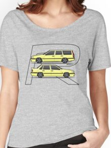 Volvo 850R T5-R Duo Creme Yellow Women's Relaxed Fit T-Shirt