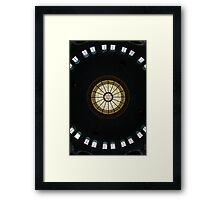 """""""Our world is in crisis because of the absence of consciousness,"""" NY Framed Print"""