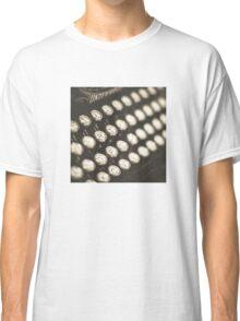 Vintage Typewriter Keys Classic T-Shirt