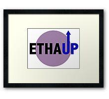 EthaUp Gaming Logo Framed Print