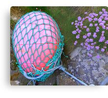 The Missing Pink Rugby Ball Metal Print