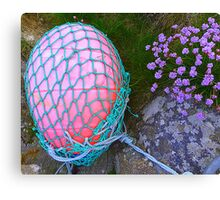 The Missing Pink Rugby Ball Canvas Print