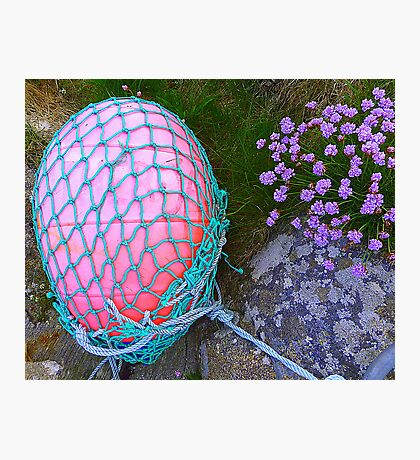 The Missing Pink Rugby Ball Photographic Print
