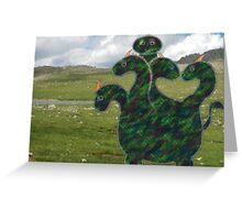 H is for Hydra Greeting Card