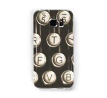 Vintage Typewriter Keys Samsung Galaxy Case/Skin