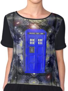 TARDIS CLASSIC LONDON POLICE BOX 1 Chiffon Top