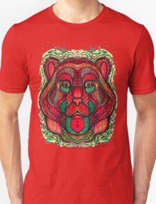Psychedelic bear Unisex T-Shirt