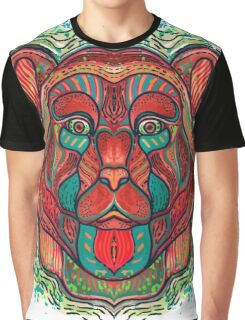 Psychedelic bear Graphic T-Shirt