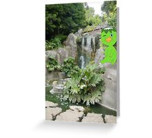 K is for Kappa Greeting Card