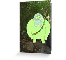 L is for Leshy Greeting Card