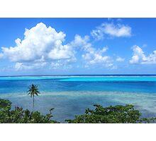 French Polynesia seascape Photographic Print