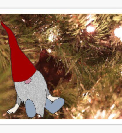 T is for Tomte Sticker