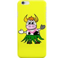 HaPPY COw iPhone Case/Skin