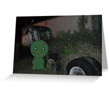 Z is for Zombie Greeting Card