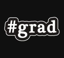 Grad - Hashtag - Black & White by graphix